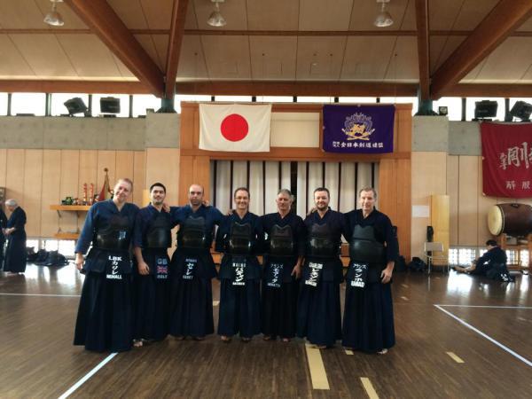 Gruppbild Kitamoto